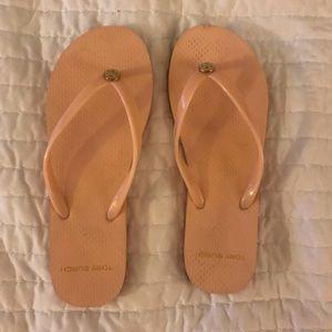Tory Burch Shoes - Tory Burch Flip Flops-Pink Size 8